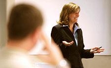 Seminarsituation mit Angelika Schaeuffelen